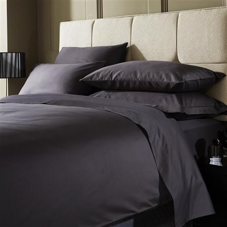 Hotel Living 1000 Thread Count Double Flat Sheet, Platinum