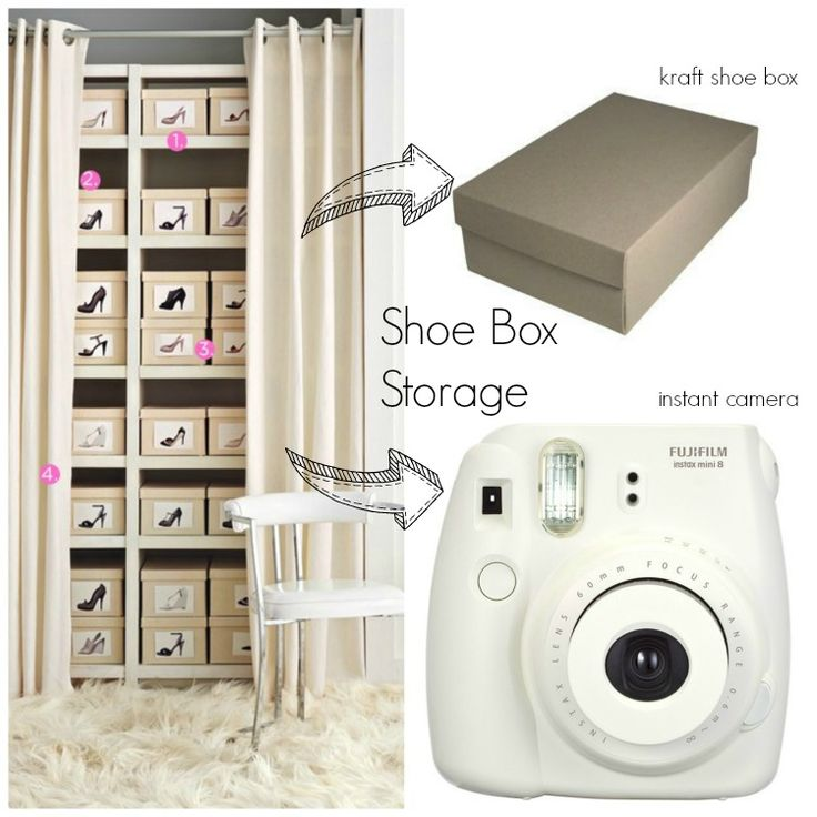 1000+ Ideas About Shoe Box Storage On Pinterest
