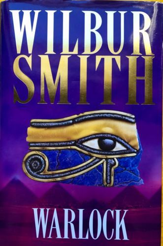 Warlock-by-Wilbur-Smith-excellent-condition-used-hardcover-with-dustjacket