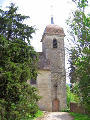 Clocher d'une église de France : 70109 - Buthiers
