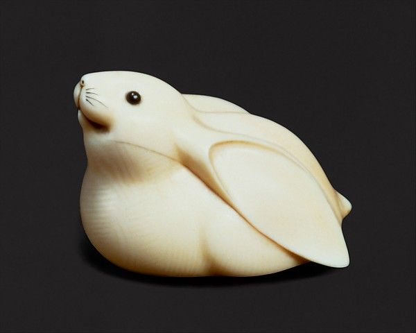 Mitsuhiro Ōhara (Japanese, 1810–1875). White Rabbit, mid-19th century. The Metropolitan Museum of Art, New York. Edward C. Moore Collection, Bequest of Edward C. Moore, 1891 (91.1.975)