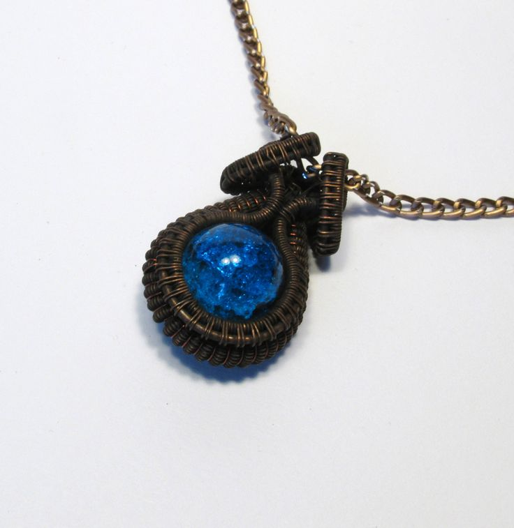 #solid #massive #twisted #wrapped #wire #copper #blue #glass #wirewrapped #wirewrapping #wrapping #pendant #pendent #necklace #neckless #jewelry #jewellery #etsy #etsyshop #etsyseller #unique #unusual #ooak #steampunk #unisex #trinket #tinsel #gift #gifts #uncommon #wonderful #metal #weawed #wowen #embroidered