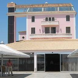 Esplanada do Hotel do Sado Business & Nature * * * * - vista palacete