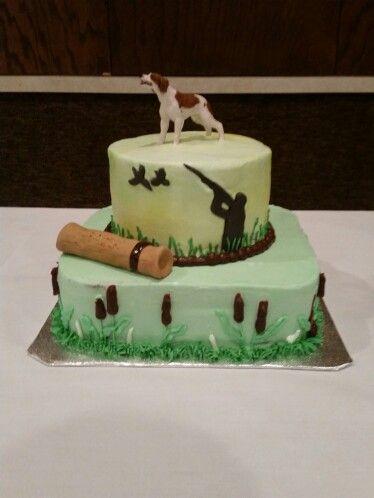 Brittany Spaniel hunting cake