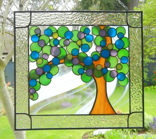 Swing Song - from Delphi Stained Glass Gallery