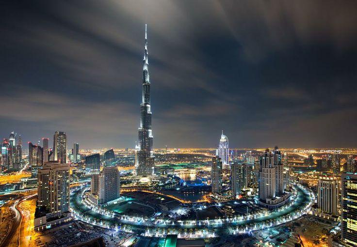 Bulevardul din jurul Burj Khalifa