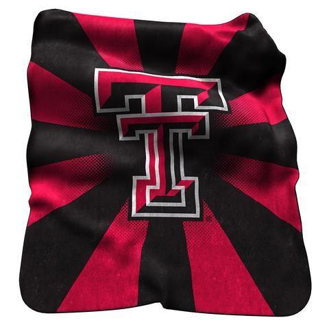 Texas Tech Red Raiders Raschel Throw #TexasTechRedRaiders