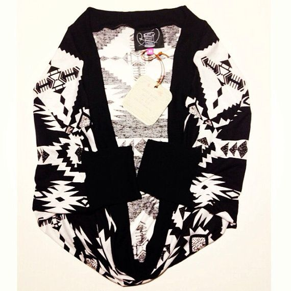 Black and White Aztec Cardigan // toddler Aztec // baby Aztec Cardi. This. - 784 Best Dressing 3 Girls Images On Pinterest Children, Baby