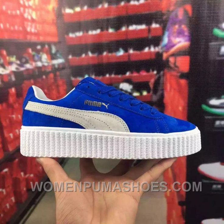 http://www.womenpumashoes.com/puma-rihanna-suede-creepers-blue-white-36100501-3644-women-men-online-6teyt.html PUMA RIHANNA SUEDE CREEPERS BLUE WHITE 361005-01 36-44 WOMEN/MEN AUTHENTIC AYJNR Only $80.00 , Free Shipping!