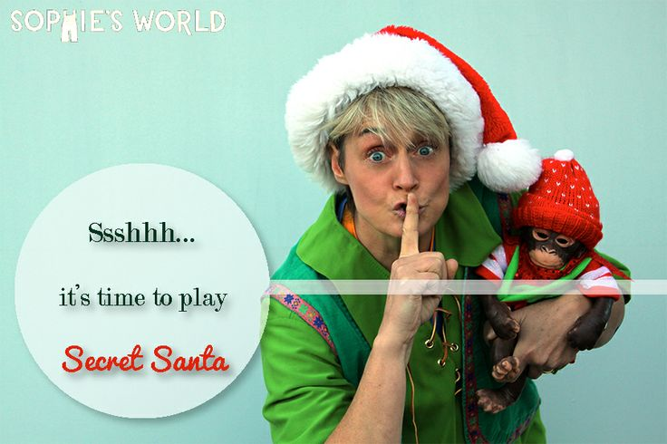 Sssh!!! Check out sophie-world.com for super fun ideas on how to make your next Secret Santa game extra creative.