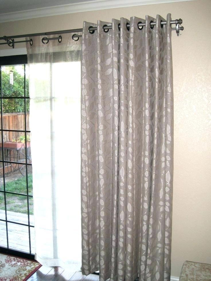 75 Living Room Curtain Rods Sliding Glass Door Curtains Curtains Living Room Sliding Glass Door Window