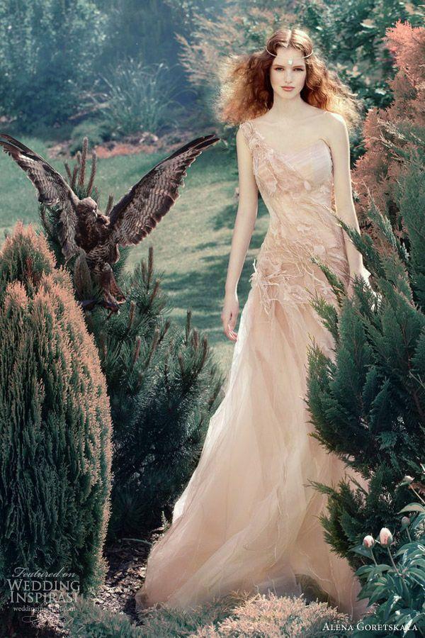 I don't think it's for me but it's cool....alena goretskaya wedding dresses 2013 vafa one shoulder gown