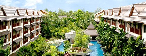 Kata Palm Resort & Spa, Kata Beach Phuket Thailand.