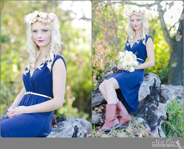 Dress, Long hair , Portrait , Girl Pose , Flowers , Make Up , Forest , Beauty Shoot , flower crown , bouquet , boots with dress
