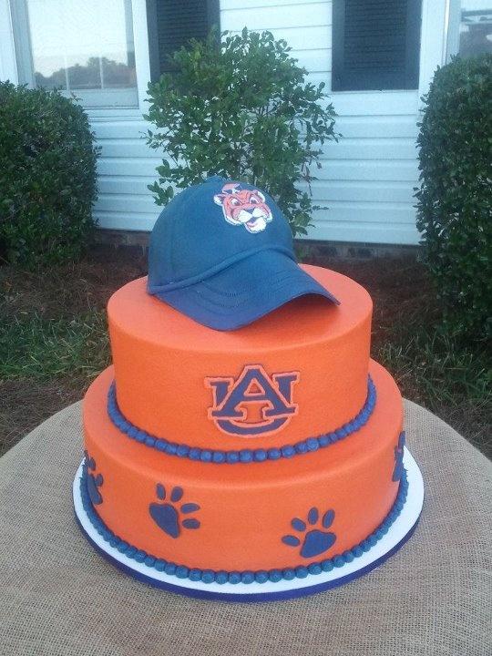 Auburn grooms cake