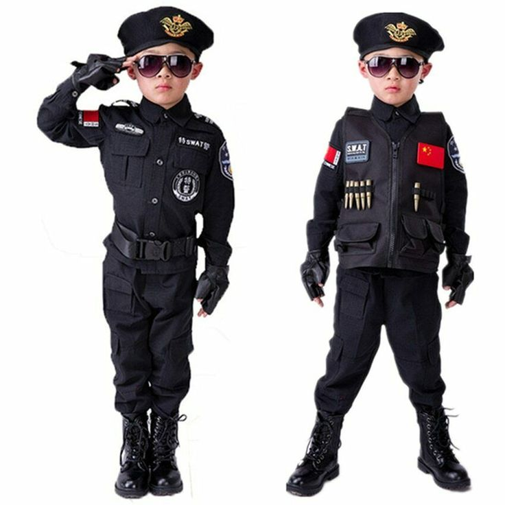 Boys policeman fancy dress costume child police constable