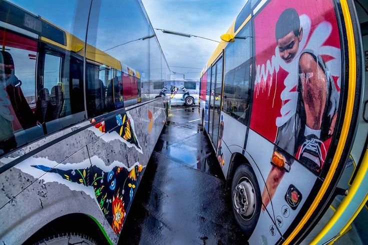 Norway Commissions Fleet of Beautiful Street Art Buses