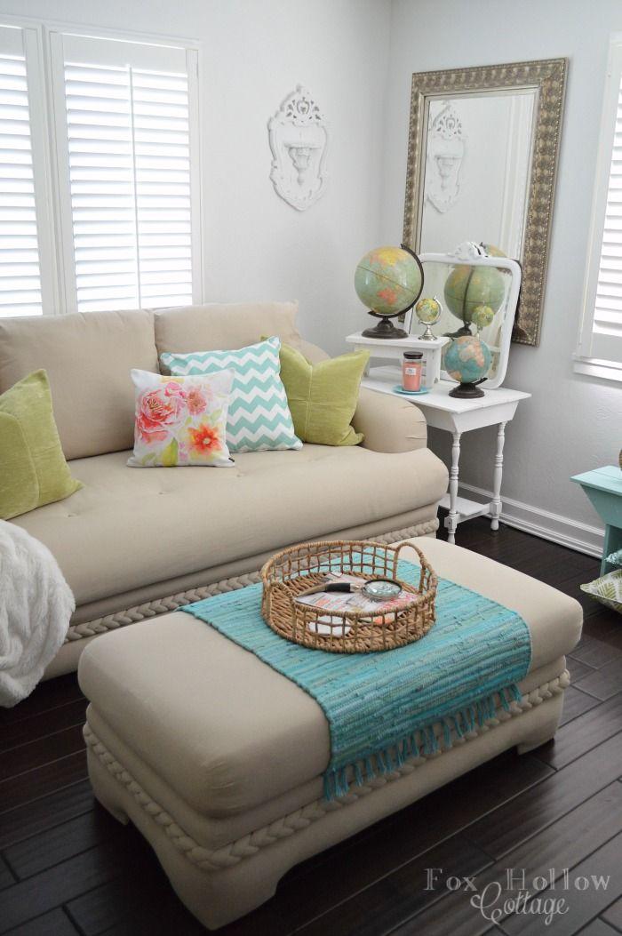 93 best spring decor images on pinterest pulte homes. Black Bedroom Furniture Sets. Home Design Ideas
