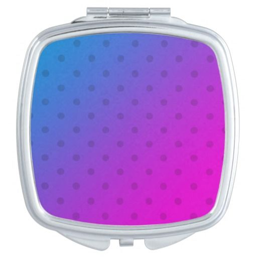 Designers ladies mirror : With Dots