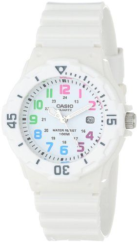 Casio Women's LRW200H-7BVCF Dive Series Diver Look Analog Watch - http://www.watchesandstuff.com/casio-womens-lrw200h-7bvcf-dive-series-diver-look-analog-watch/