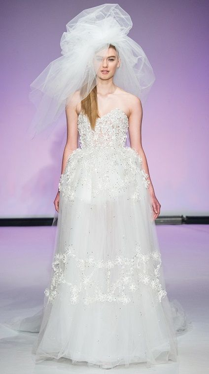 Wedding gown and photo courtesy of Dany Atrache