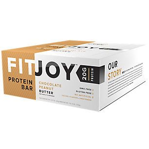 Buy FitJoy Protein Bar - CHOCOLATE PEANUT BUTTER (12 Bars) from the Vitamin Shoppe. Where you can buy FitJoy Protein Bar - CHOCOLATE PEANUT BUTTER and other FitJoy products? Buy at at a discount price at the Vitamin Shoppe online store. Order today and get free shipping on FitJoy Protein Bar - CHOCOLATE PEANUT BUTTER (UPC:810390028153)(with orders over $35).