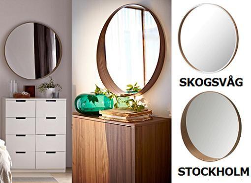 M s de 25 ideas incre bles sobre espejos redondos en for Ikea espejos grandes