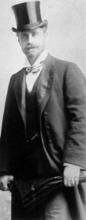 Ernest Godward about 1900, when he was aged about 30. Photo supplied.