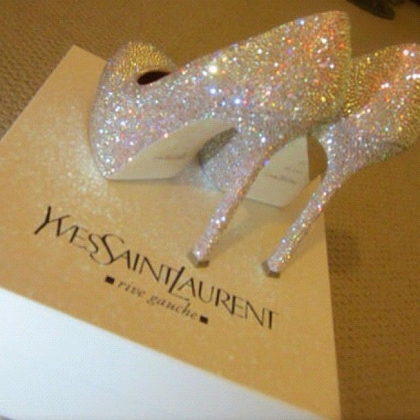 YSL. Wedding Shoes