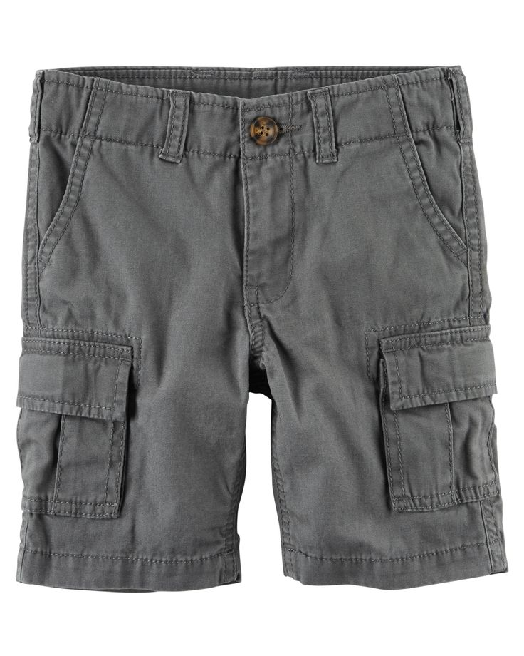 Kid Boy Cargo Shorts from Carters.com. Shop clothing & accessories from a trusted name in kids, toddlers, and baby clothes.