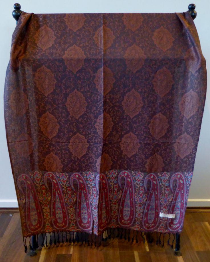 Scarf, Wrap, Shawl, Ladies Luxurious Soft Vibrant Pashmina, 100% Cashmere, Great Gift, #8 by WanderingThreadz on Etsy