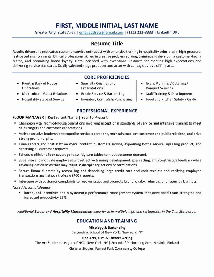 Pin on Resume Layout & Font Tips / Interview Questions