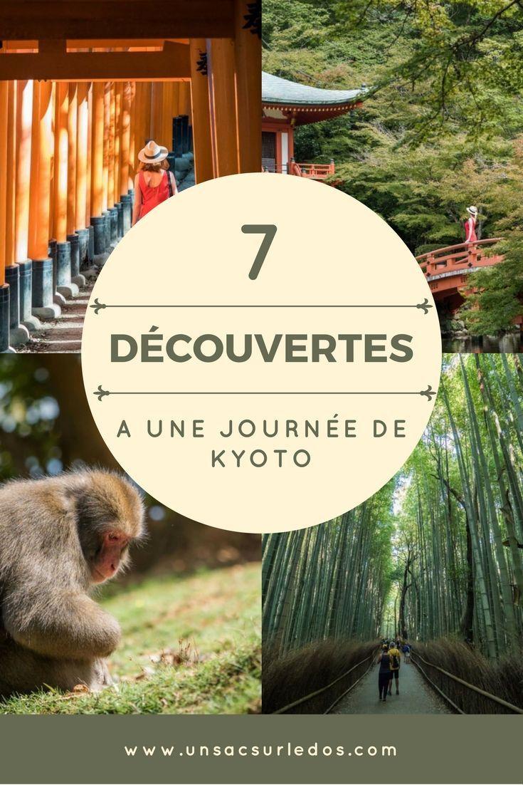 Kyoto, nous on l'adore!Et autour deKyoto, il y a aussi de nombreux endroits très intéressants à visiter. Voici nos 7 idées de lieux à découvrir autour de #Kyoto, en expédition à la journée. #Japon #Japan #Asie #voyage #blogvoyage #visite #tourisme #Arashiyama #bambou #foret #Iwatayama #singe #Fushimi #torii #pagode #Nara #daim #cerf #koya #Kanazawa #Hiroshima #Miyajima #Amanohashidate #Himeji #Osaka