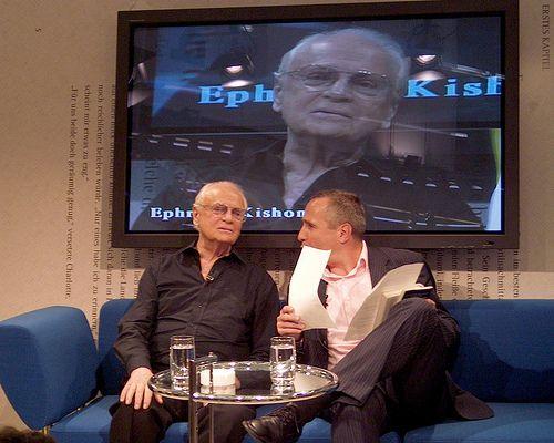 Ephraim Kishon im Gespräch mit Klaus Urban