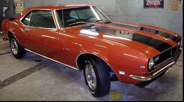 1968 Z/28 Camaro