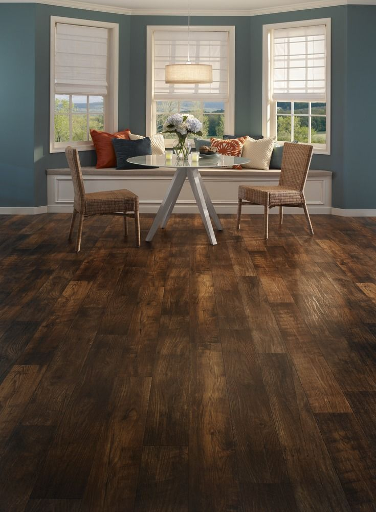 this havana resilient flooring is reminiscent of the