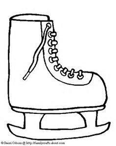 Afbeeldingsresultaten voor  knutselen winter schaatsen