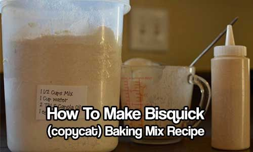 How To Make Bisquick (copycat) Baking Mix Recipe. make pancakes, waffles, scones, and biscuits and more. This recipe can be stored for up to 6 weeks