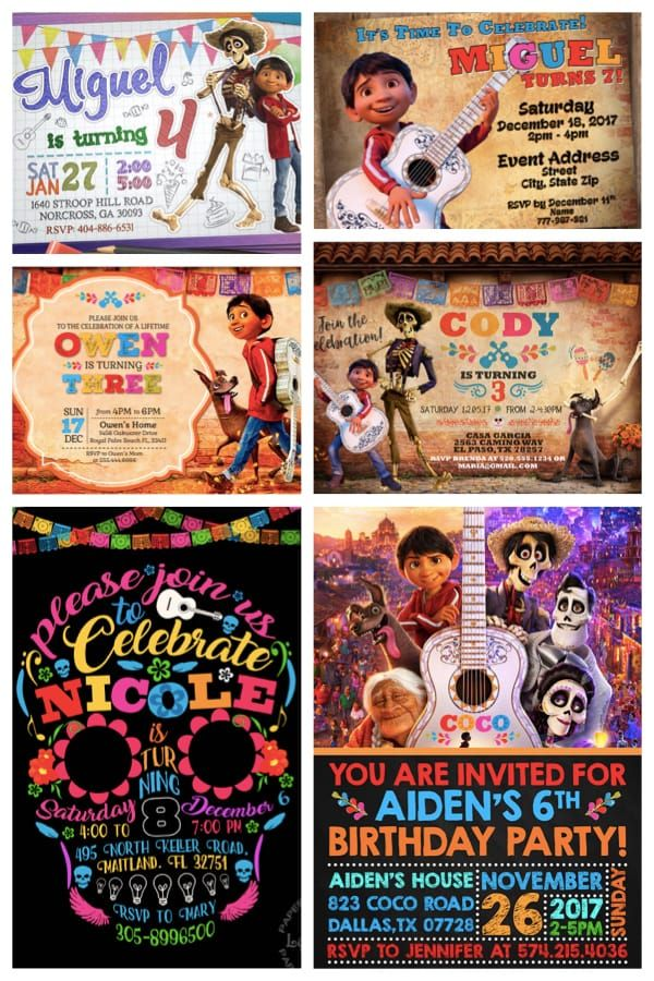 Coco Birthday Party Planning Ideas Supplies