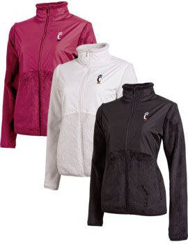 Champion® University of Cincinnati Women's Gracial Jacket $58
