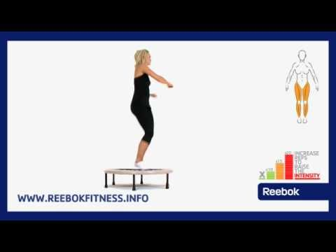 Reebok Fitness Ćwiczenia Online: Trampolina - Skręty tułowia