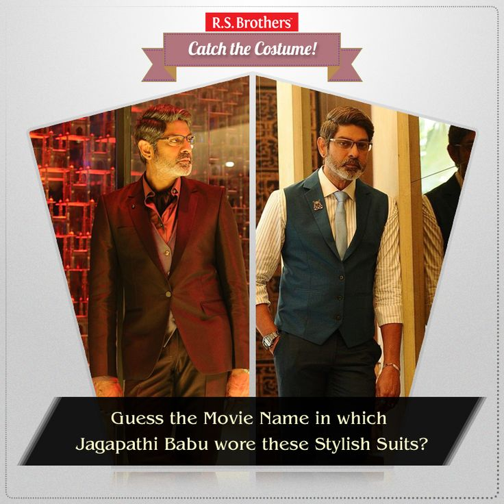 ‪#‎Catch‬ The Costume Guess the Movie name? In which Movie South Indian Actor ‪#‎JagapathiBabu‬ wore these ‪#‎Stylish‬ ‪#‎Western‬ ‪#‎Outfits‬ ? Share your answers in comments. (Image copyrights belong to their respective owners)