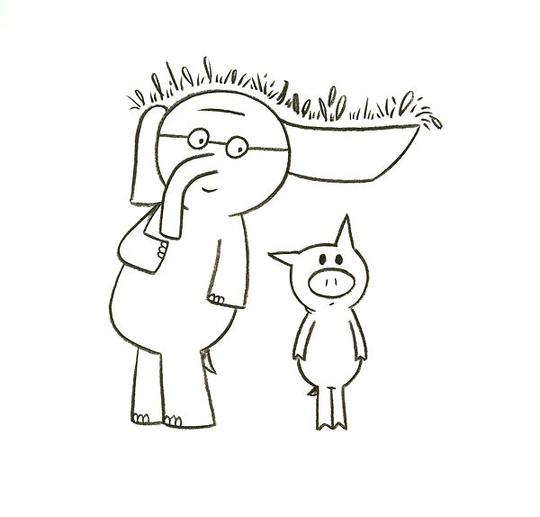 57 best Elephant and Piggie images on Pinterest  Mo willems Book
