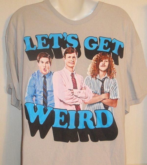 COMEDY CENTRAL WORKAHOLICS LET'S GET WEIRD GRAPHIC T-SHIRT XLARGE #ComedyPartners #GraphicTee