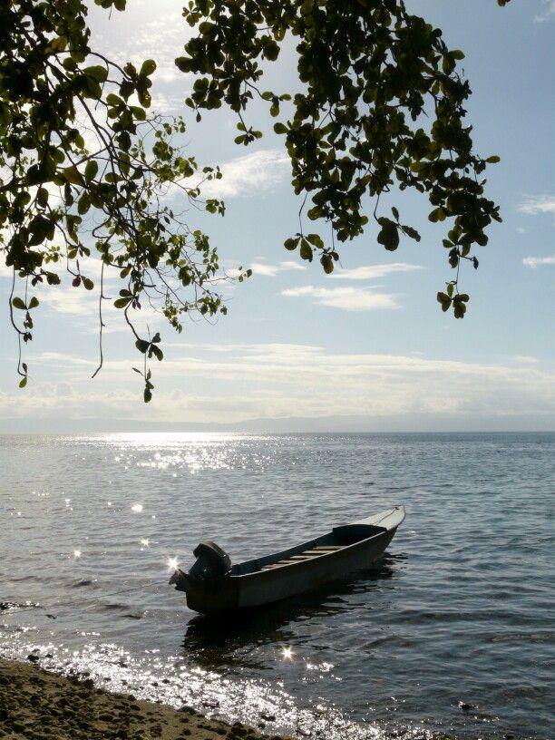 Morning sun at Nusa Telu