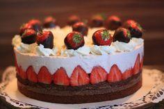Erdbeer-Schoko-Torte