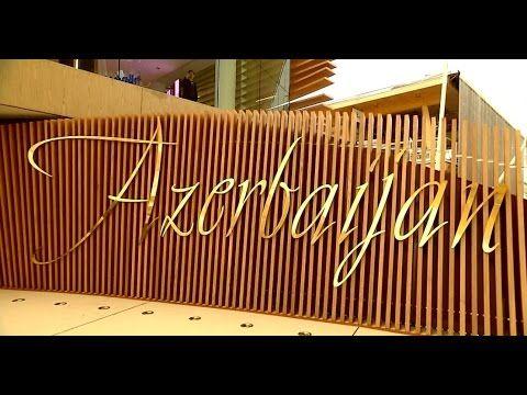 Visita al Padiglione dell'Azerbaigian