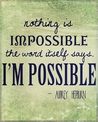 It is possible.