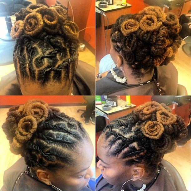 My Locbox Photo Natural Hair Styles Loc Updo Hair Styles