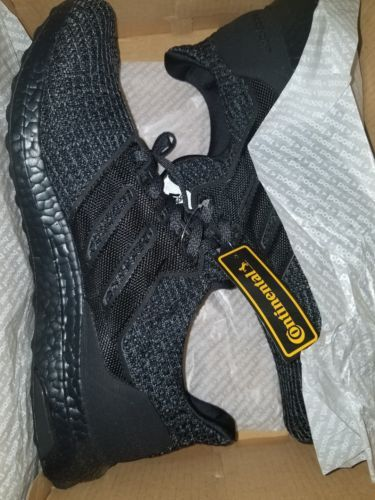 64cbe6032 Adidas Ultra Boost Ultraboost 4.0 Triple All Black BB6171 Size 9 ...